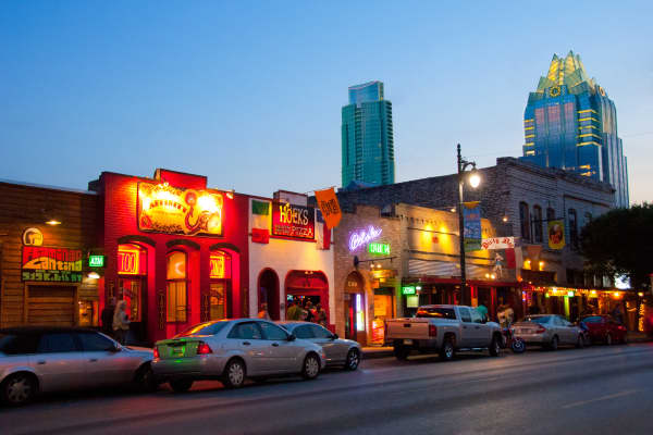 A historic district of Austin, Texas.
