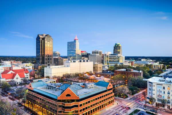Raleigh, North Carolina.
