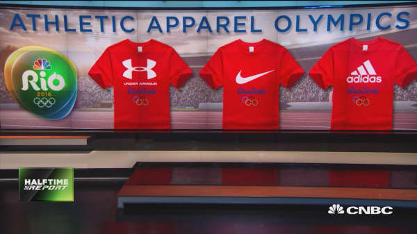 Olympic stocks: Nike, Adidas & Under Amour