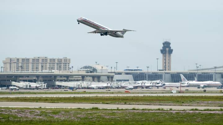 Dallas/Fort Worth International Airport.