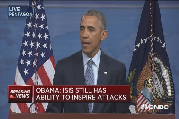 Obama: Continue to take out senior ISIS leaders