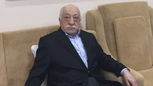 Turkish cleric and opponent to the Erdogan regime, Fethullah Gulen, at his residence in Saylorsburg, Pennsylvania on July 18, 2016.