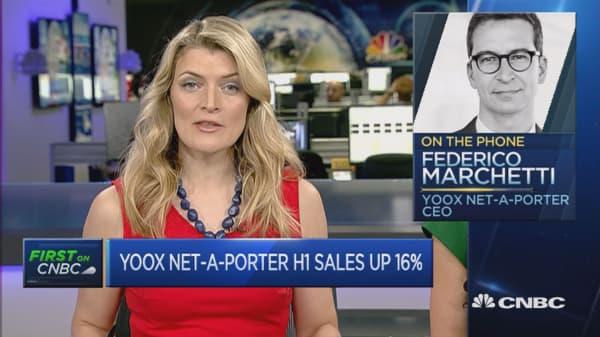 Brexit hitting revenue but boosting margins: YOOX CEO