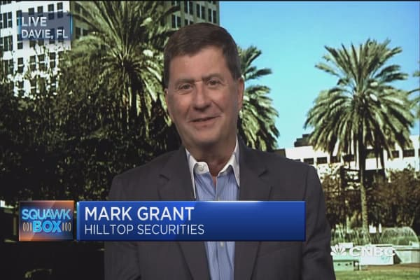 Grant: Money driving yields down, equities up
