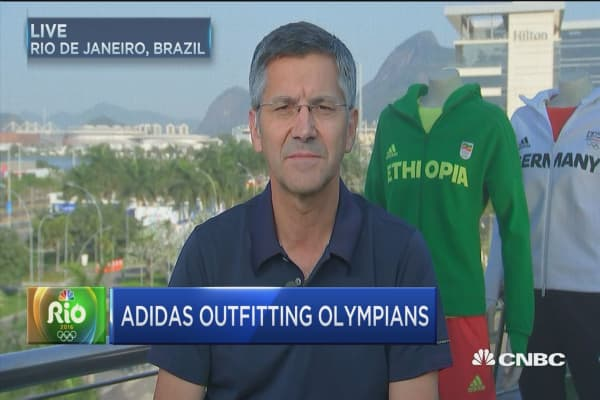 Adidas CEO talks golf and Kanye West