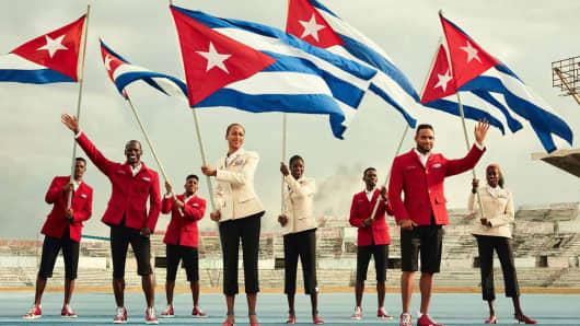 Cuba Olympic uniforms