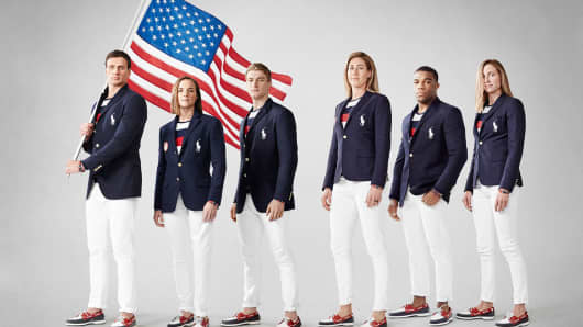Team USA Olympic opening ceremony uniforms