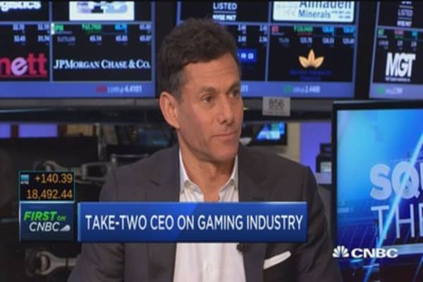 Take-Two Q1 sales rise 13%