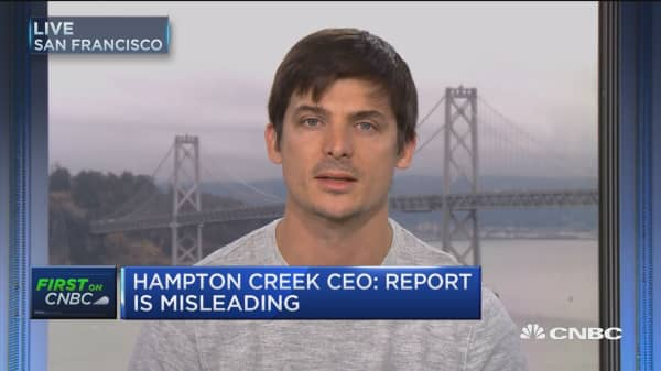 Hampton Creek CEO: I would do mayo buyback again