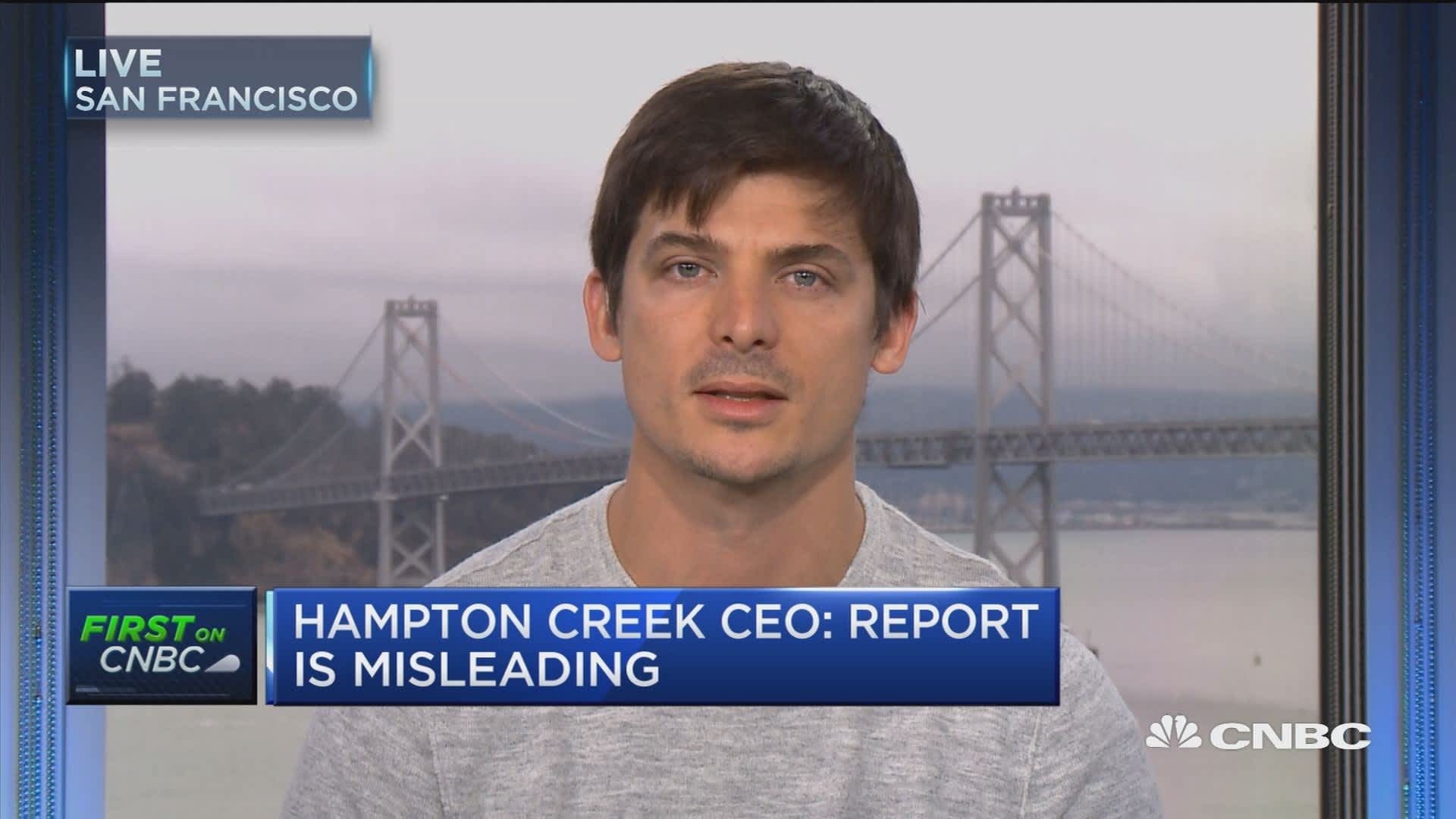 Hampton Creek Ceo Said To Be Last Man Standing As Directors Resign