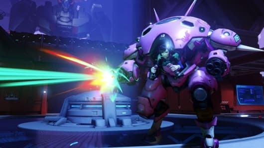 "An image from Activision's game ""Overwatch."""
