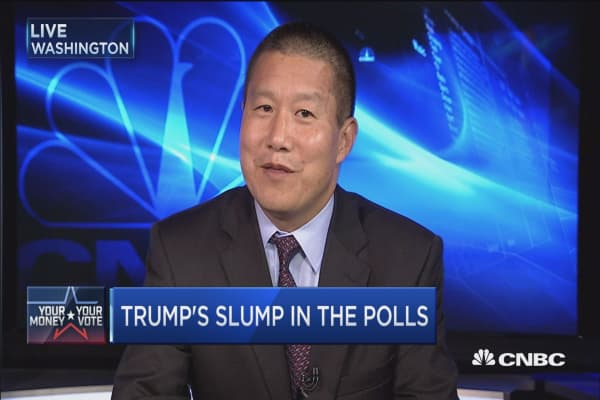 New poll shows Clinton maintains big lead