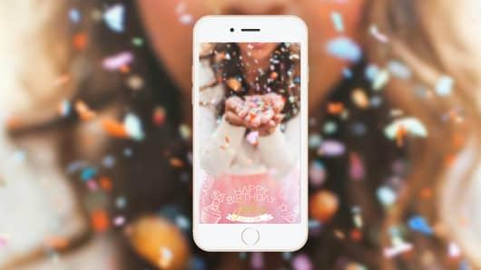 Custom birthday filter