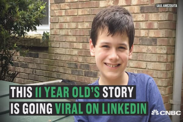 The internet loves this 11-year-old kid