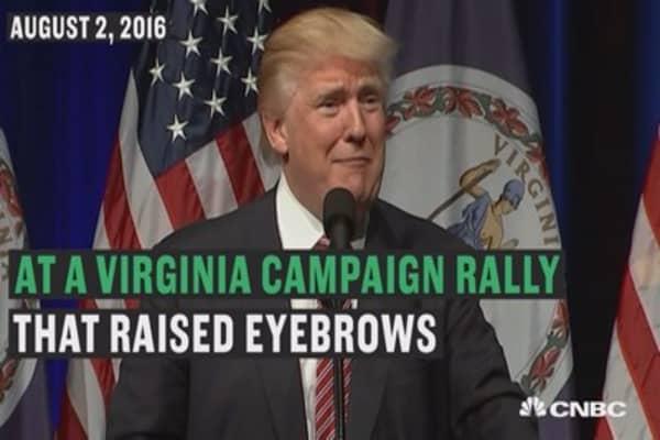 Trumps campaign had a tough week