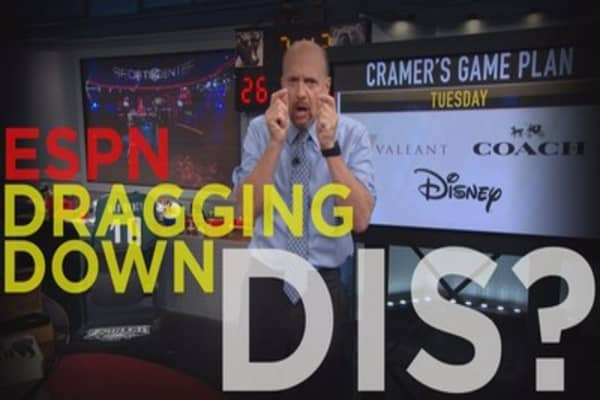 Cramer Remix: The real issue with Disney (hint: it's not ESPN growth)