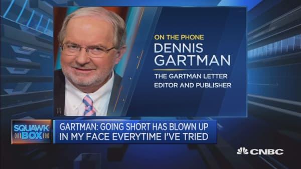 I've been bullish on gold for years: Dennis Gartman