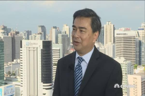Strong reaction against political establishment seen globally: Fmr Thai PM