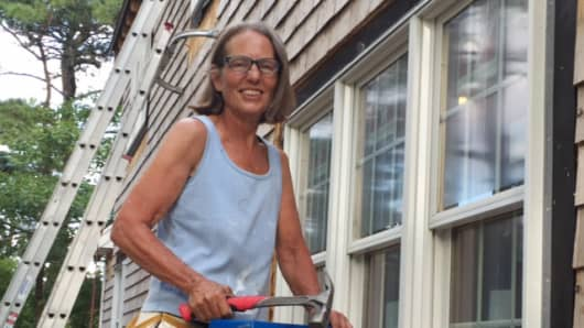 Recently retired, former software engineer Laura Cammarano is supporting her income by investing in homes in need of repair, renovating them herself and selling them a few months later.