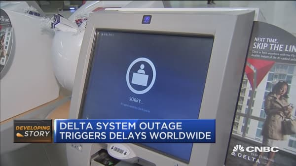 Delta flights grounded