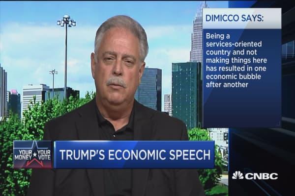 Trump's 4-part economic focus