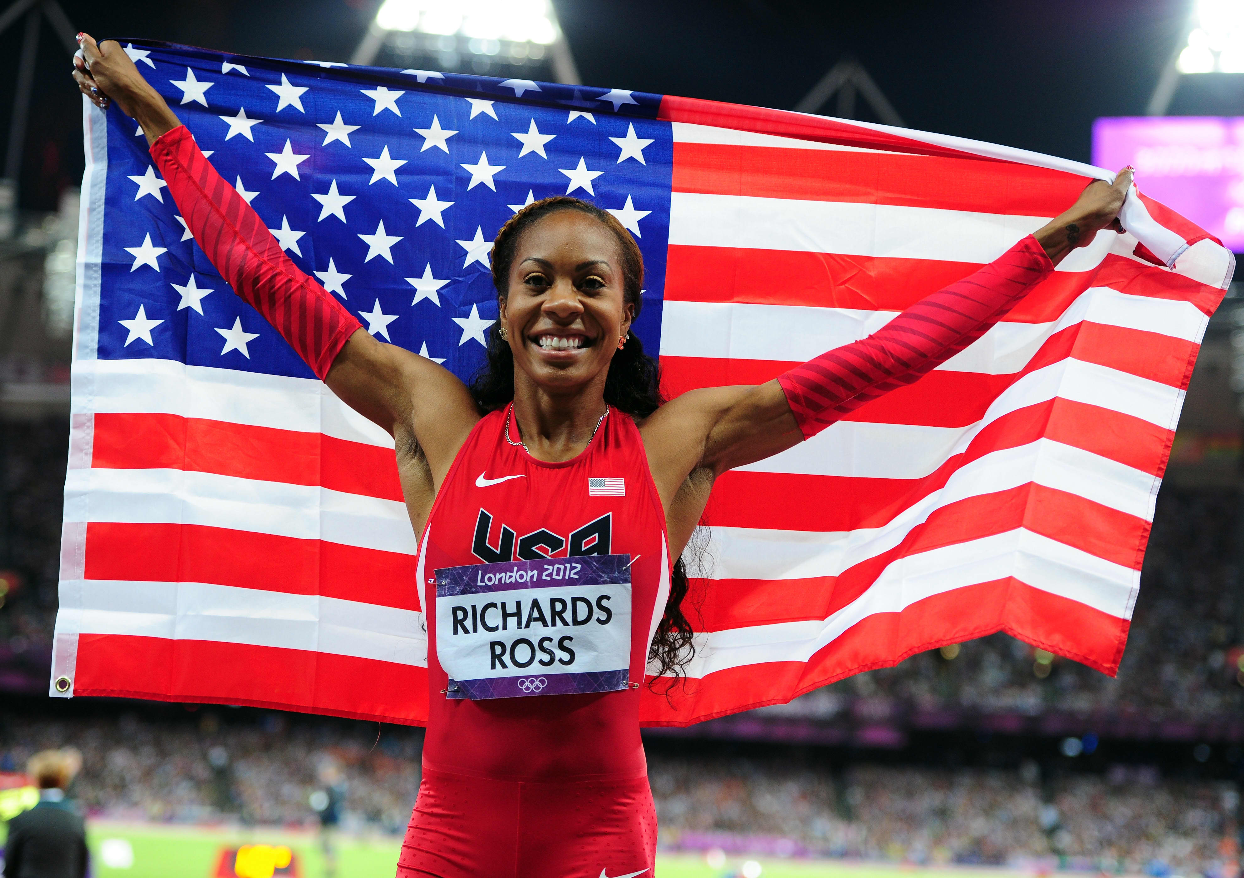 Watch Sanya Richards-Ross 5 Olympic medals video