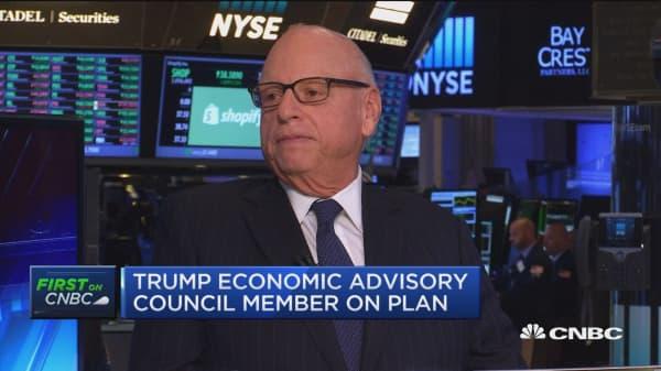 Trump econ. advisor: Lower rates spur the economy
