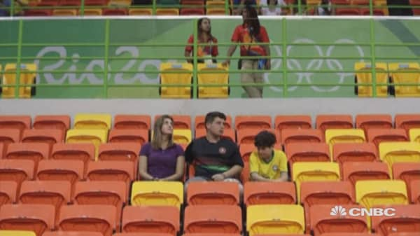 Rio unsold: More than a million tickets remain
