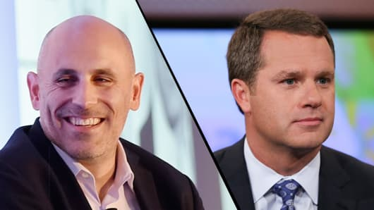 Marc Lore, CEO of Jet.com and Doug McMillon, CEO of Wal-Mart