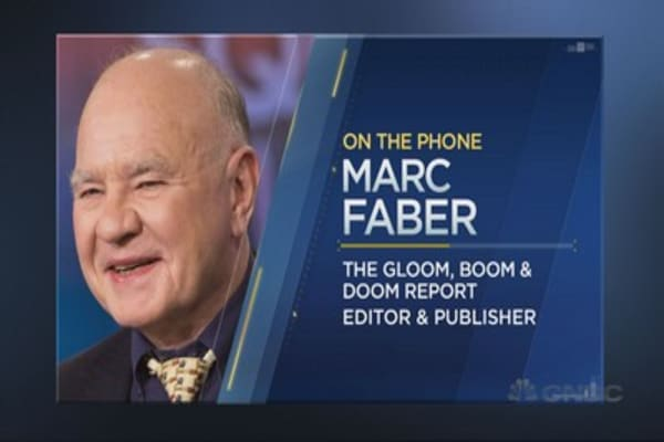 Marc Faber on record highs for stocks