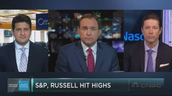 S&P, Russell surge together; good sign for stocks?