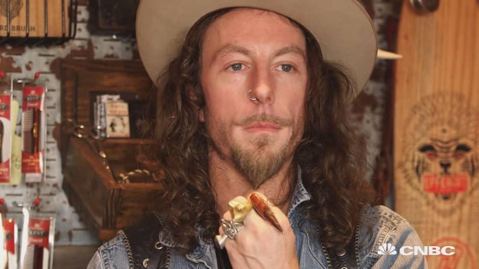A self-proclaimed genius combs profits from beard boom