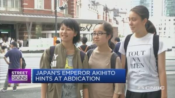 Akihito Voxpop PKG