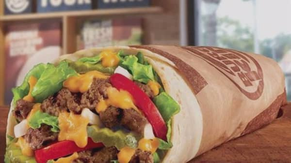 Burger King to sell Whopperrito nationwide