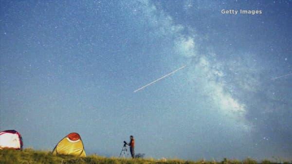 Watch peak of the Perseid meteor shower