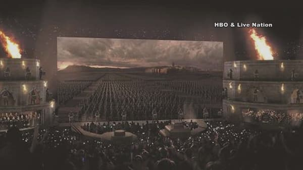 Game of Thrones is going on tour