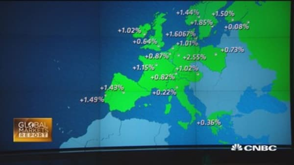 European stocks extend winning streak