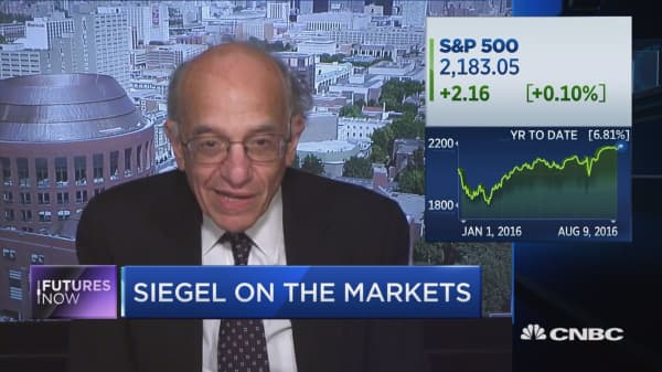 What to expect from stocks before year's end: Siegel