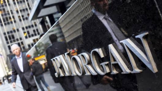 JP Morgan and Chase company building