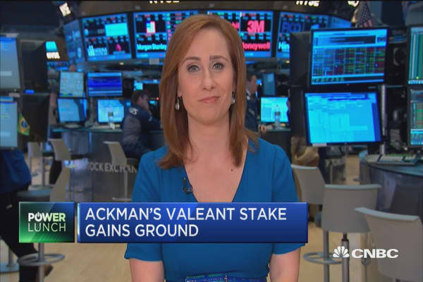 Pershing still underwater with Valeant holdings