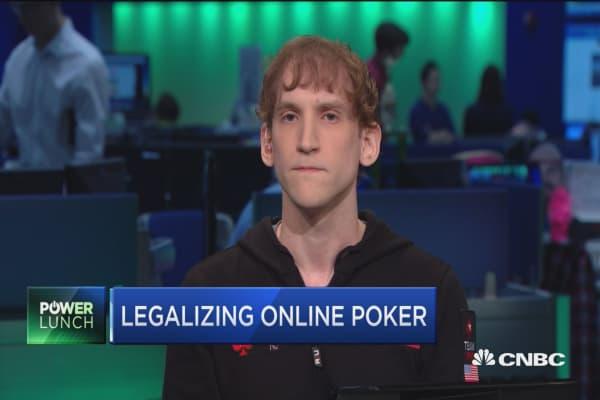 Legalizing online poker