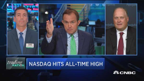 Johnson: Nasdaq has 'more upside to go'