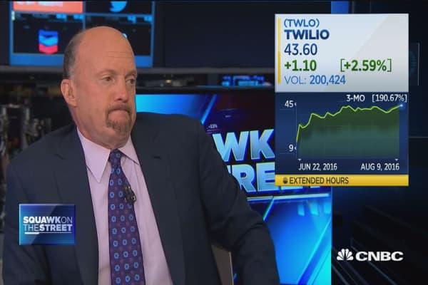 Twilio is the future of cloud computing, Cramer says