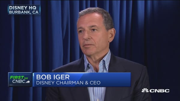 Disney CEO: We think Bamtech is a good investment