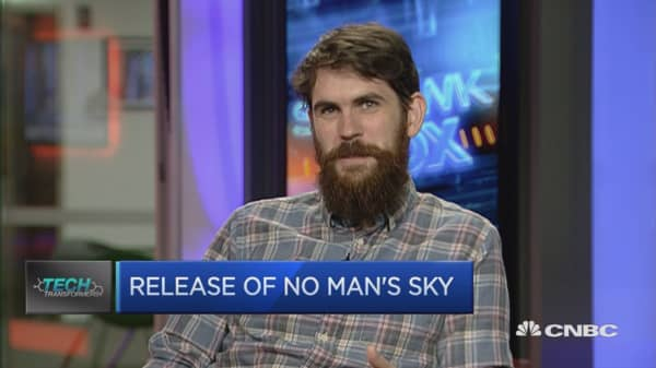 PS4 game No Man's Sky released today in Europe