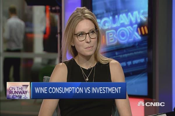 Should invest in bottles of fine wine?