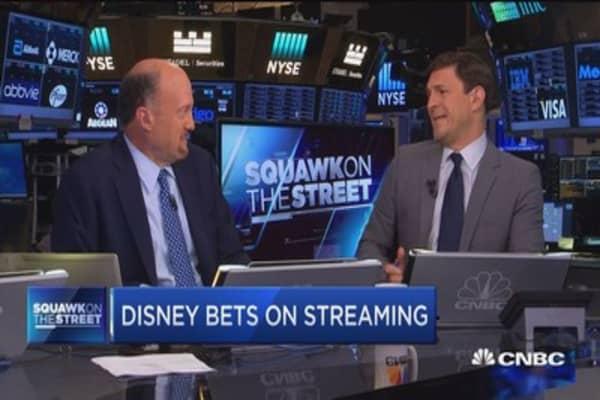Jim Cramer on Walt Disney BAMTech deal
