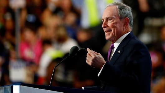 Former New York City Mayor Michael Bloomberg