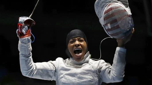 American Olympic fencer Ibtihaj Muhammad