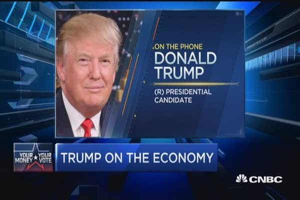 Regulations, Obamacare and taxes are destroying economy: Donald Trump